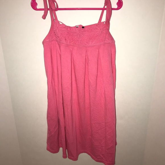GAP Other - Pink Lace top Dress